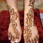 фото Мехенди на ноге от 24.10.2017 №031 - Mehendi on foot - tattoo-photo.ru