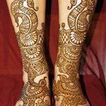 фото Мехенди на ноге от 24.10.2017 №068 - Mehendi on foot - tattoo-photo.ru