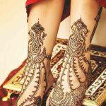 фото Мехенди на ноге от 24.10.2017 №077 - Mehendi on foot - tattoo-photo.ru
