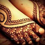 фото Мехенди на ноге от 24.10.2017 №088 - Mehendi on foot - tattoo-photo.ru 272723434