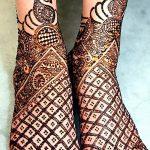 фото Мехенди на ноге от 24.10.2017 №109 - Mehendi on foot - tattoo-photo.ru