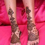 фото Мехенди на ноге от 24.10.2017 №120 - Mehendi on foot - tattoo-photo.ru