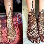 фото Мехенди на ноге от 24.10.2017 №144 - Mehendi on foot - tattoo-photo.ru