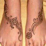 фото Мехенди на ноге от 24.10.2017 №149 - Mehendi on foot - tattoo-photo.ru