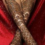 фото Мехенди на ноге от 24.10.2017 №154 - Mehendi on foot - tattoo-photo.ru
