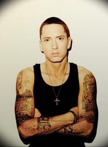 фото Тату Эминема от 13.10.2017 №004 - Eminem Tattoo - tatufoto.com