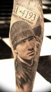 фото Тату Эминема от 13.10.2017 №007 - Eminem Tattoo - tatufoto.com