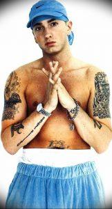 фото Тату Эминема от 13.10.2017 №009 - Eminem Tattoo - tatufoto.com