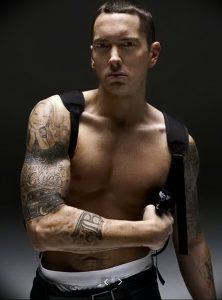 фото Тату Эминема от 13.10.2017 №013 - Eminem Tattoo - tatufoto.com