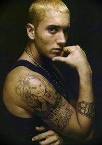фото Тату Эминема от 13.10.2017 №014 - Eminem Tattoo - tatufoto.com