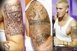 фото Тату Эминема от 13.10.2017 №024 - Eminem Tattoo - tatufoto.com