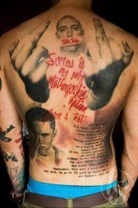 фото Тату Эминема от 13.10.2017 №034 - Eminem Tattoo - tatufoto.com