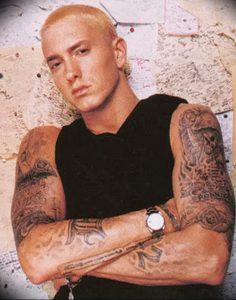 фото Тату Эминема от 13.10.2017 №045 - Eminem Tattoo - tatufoto.com