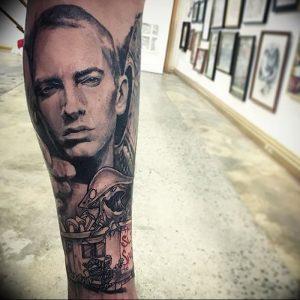 фото Тату Эминема от 13.10.2017 №060 - Eminem Tattoo - tatufoto.com
