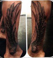 фото тату Крылья Гермеса от 21.10.2017 №003 — tattoo Wings of Hermes — tattoo-photo.ru