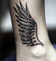 фото тату Крылья Гермеса от 21.10.2017 №004 — tattoo Wings of Hermes — tattoo-photo.ru