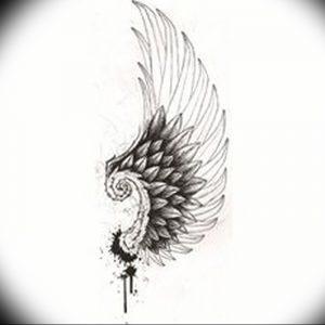 фото тату Крылья Гермеса от 21.10.2017 №006 - tattoo Wings of Hermes - tattoo-photo.ru