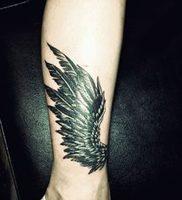 фото тату Крылья Гермеса от 21.10.2017 №011 — tattoo Wings of Hermes — tattoo-photo.ru