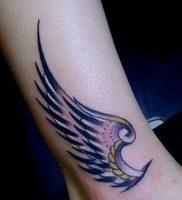 фото тату Крылья Гермеса от 21.10.2017 №013 — tattoo Wings of Hermes — tattoo-photo.ru