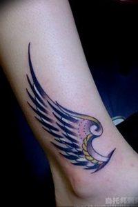 фото тату Крылья Гермеса от 21.10.2017 №013 - tattoo Wings of Hermes - tattoo-photo.ru