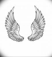 фото тату Крылья Гермеса от 21.10.2017 №014 — tattoo Wings of Hermes — tattoo-photo.ru