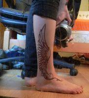 фото тату Крылья Гермеса от 21.10.2017 №015 — tattoo Wings of Hermes — tattoo-photo.ru