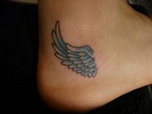 фото тату Крылья Гермеса от 21.10.2017 №023 - tattoo Wings of Hermes - tattoo-photo.ru