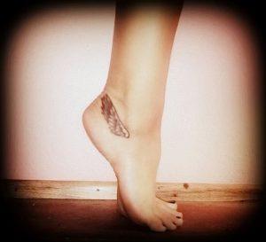 фото тату Крылья Гермеса от 21.10.2017 №041 - tattoo Wings of Hermes - tattoo-photo.ru