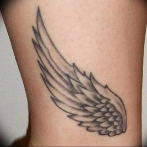 фото тату Крылья Гермеса от 21.10.2017 №051 - tattoo Wings of Hermes - tattoo-photo.ru