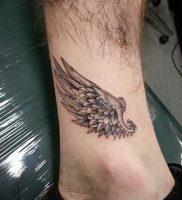 фото тату Крылья Гермеса от 21.10.2017 №065 — tattoo Wings of Hermes — tattoo-photo.ru