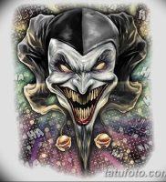 фото тату арлекин от 28.10.2017 №006 — tattoo harlequin — tatufoto.com