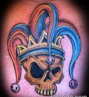 фото тату арлекин от 28.10.2017 №008 — tattoo harlequin — tatufoto.com