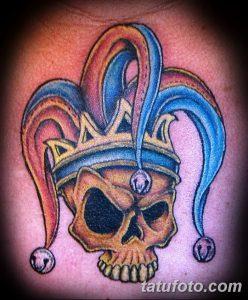 фото тату арлекин от 28.10.2017 №008 - tattoo harlequin - tatufoto.com