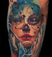фото тату арлекин от 28.10.2017 №011 — tattoo harlequin — tatufoto.com