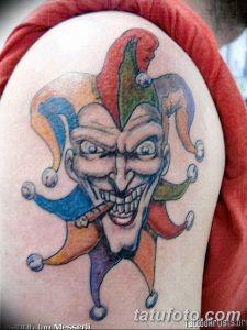 фото тату арлекин от 28.10.2017 №013 - tattoo harlequin - tatufoto.com