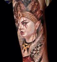 фото тату арлекин от 28.10.2017 №014 — tattoo harlequin — tatufoto.com
