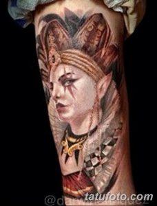 фото тату арлекин от 28.10.2017 №014 - tattoo harlequin - tatufoto.com