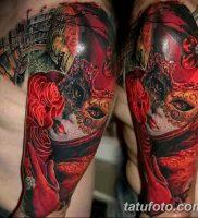 фото тату арлекин от 28.10.2017 №015 — tattoo harlequin — tatufoto.com