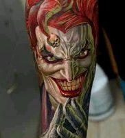 фото тату арлекин от 28.10.2017 №017 — tattoo harlequin — tatufoto.com