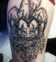 фото тату арлекин от 28.10.2017 №018 — tattoo harlequin — tatufoto.com