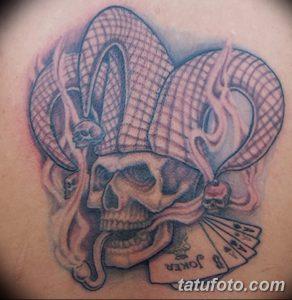 фото тату арлекин от 28.10.2017 №019 - tattoo harlequin - tatufoto.com