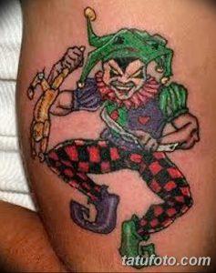 фото тату арлекин от 28.10.2017 №024 - tattoo harlequin - tatufoto.com