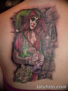 фото тату арлекин от 28.10.2017 №026 - tattoo harlequin - tatufoto.com 37345234