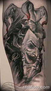 фото тату арлекин от 28.10.2017 №034 - tattoo harlequin - tatufoto.com