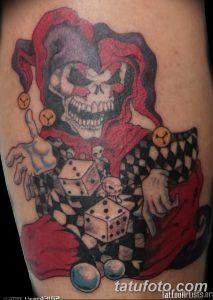 фото тату арлекин от 28.10.2017 №035 - tattoo harlequin - tatufoto.com