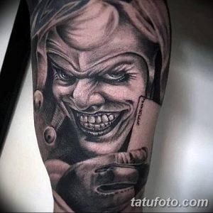 фото тату арлекин от 28.10.2017 №038 - tattoo harlequin - tatufoto.com