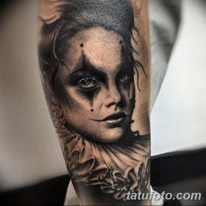 фото тату арлекин от 28.10.2017 №039 - tattoo harlequin - tatufoto.com