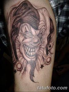 фото тату арлекин от 28.10.2017 №041 - tattoo harlequin - tatufoto.com