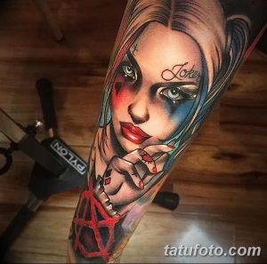 фото тату арлекин от 28.10.2017 №043 - tattoo harlequin - tatufoto.com