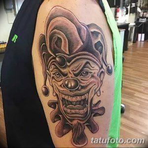 фото тату арлекин от 28.10.2017 №047 - tattoo harlequin - tatufoto.com
